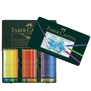 Matite pastello colorate Acquerellabili Albrecht Dürer Astuccio metallo 60 (#117560)  Faber-Castell Eco