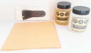 Mini kit per la doratura - foglia argento - P.A.G.