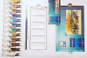 Colori acquerello  a tubetto Cotman Winsor & Newton set completo
