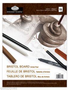 Blocco da disegno A4 alta qualità Bristol Board Pad Royal Langnickel