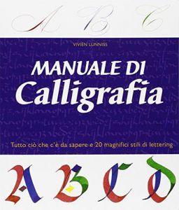 libro manuale calligrafia