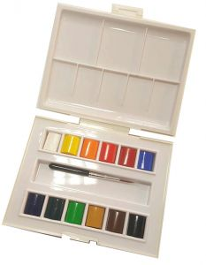 Acquerelli - Fine - Watercolour Travel Box
