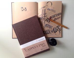 Blocco da Disegno - Sketchbook - The Cappuccino Book - Formato A5 - Rilegato - art. 10 628 995 - Hahnemuhle