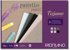 Blocco di carta da disegno - Carta Colorata Pastello