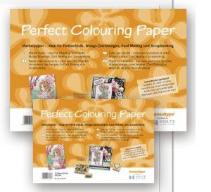 Carta Copic - Fogli A4 per colorare con pennarelli Copic, Brush, Inchiostri e Tamponi -