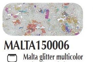 Malta/pasta acrilica per fondi ed effetti materici 3D Glitter multicolor Ferrario 150 ml