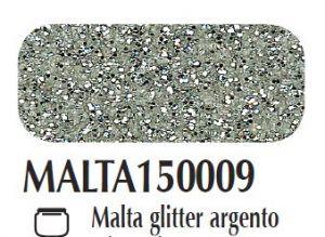 Malta/pasta acrilica per fondi ed effetti materici 3D Glitter argento Ferrario 150 ml
