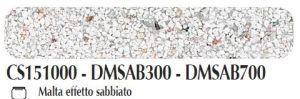 Malta/pasta acrilica per fondi ed effetti materici 3D Effetto Sabbiato Ferrario 150 ml