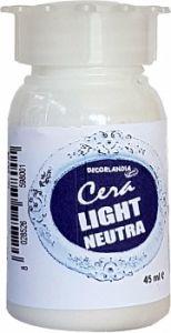 Cera Light Neutra - Protezione finale - Cera idrosolubile Indore - 45 ml - 25726 - Decorlandia