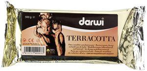 Pasta modellabile Autoindurente - Darwi Terracotta - 500 g - art. DA 081 0500 000 - Darwi