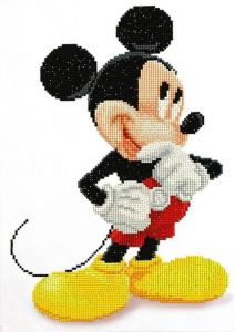 Diamond Dotz - Mickey Mouse - Topolino Disney - Kit completo - art. CD852700105