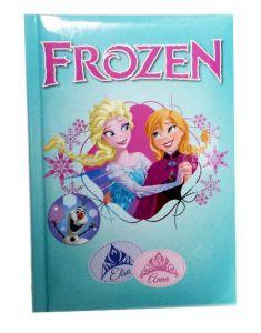 Diario scuola turchese Disney Frozen