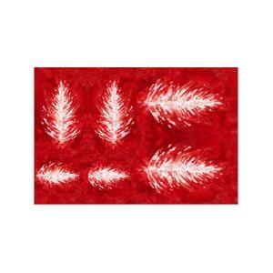 FOMMY DECO' Soft - Stella di Natale - Talco/Rosso - Sfumato - 20 x 30 cm - art. GDSF003 - Renkalik
