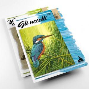 Collana Leonardo - Album N. 28 - Gli Uccelli - Soggetti e temi per la pittura e il disegno - art. Album28 - Maimeri