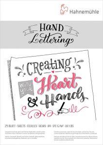 Blocco di Carta HAND LETTERING paper - Scrittura Creativa e Calligrafia - art. 10 628 991 - Hahnemuhle