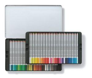 Matite colorate acquerellabili Astuccio di metallo contiene 60 colori Karat Staedtler