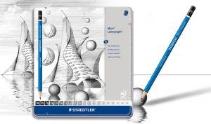 Matite di Grafite Mars Lumograph - set 20 matite da disegno con Tutte le Gradazioni classificate con Precisione - art. 100 G20 - Staedtler