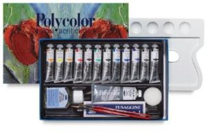 Polycolor Painting set - Colori Acrilici e Accessori per Pittura - 1298175 - Maimeri
