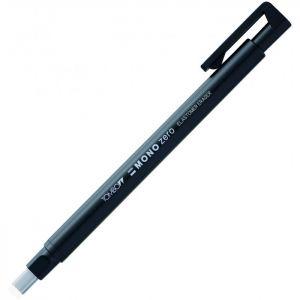 portagomma Mono Zero - punta Rettangolare - nero - elastomer eraser - ultra-fine 2,5 x 5 mm - art. EH-KUS11-B - ean 4003198501164 - Tombow