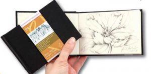 """Blocco da Disegno / Schizzi - Sketchbook """"D & S"""" formato tascabile - 12,5 x 9 cm - 60 fogli - 140 g/m2 - art. 10 628 329  - Hahnemuhle"""