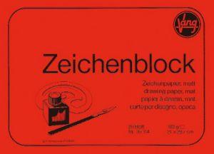 Blocco carta per disegno ruvida opaca Zeichenblock Vang 21, x 29,5 cm cm