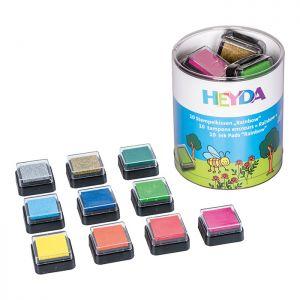 set 10 Tamponi colorati - Ink Pads