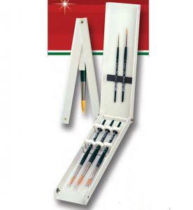 Box  pennelli universali setole sintetiche Da Vinci serie NOVA