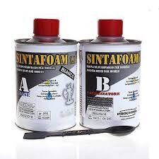 SINTAFOAM 1:1 BIANCO - Resina Poliuretanica bicomponente molto fluida per riproduzione stampaggio 500 gr - Prochima