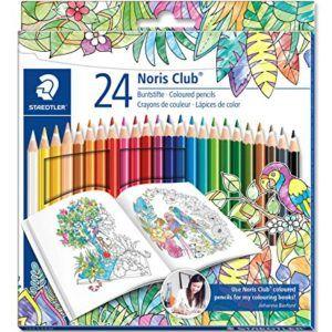 24 matite colorate