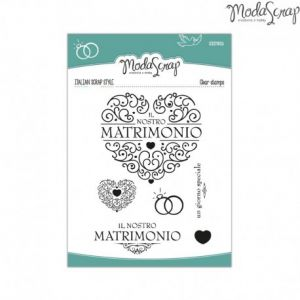 Timbro Modascrap - clear stamps - Cerimonia