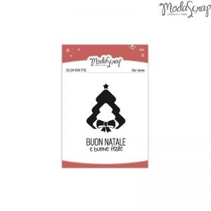 Timbro Natale - clear stamps - set 2 Timbri