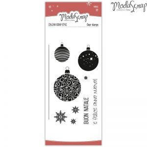 Timbro Natale - clear stamps - set 11 Timbri