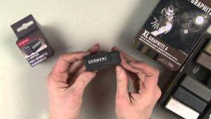 XL Grippers - Porta Carboncino XL o Grafite - 2 pezzi - Accessorio per artisiti -  art. 2302025 - Derwent
