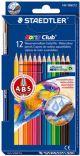Pastelli colorati acquerellabili Noris Club® aquarell 12 staedtler