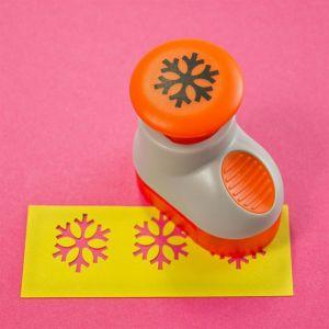 Perforatore - Paper Punch - Fiocco di Neve - Accessorio per Scrapbooking - art. 855E - Tonic Studios