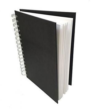 Libro per schizzi Artist Sketchbook di ROYAL & LANGNICKEL, spiralato 80 fogli di carta bianca