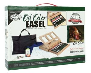 Set Colori a olio con cavalletto Easel Royal Langnickel