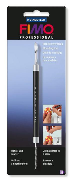 Utensile per Modellare - Fimo Professional - Foratore e Lisciatore - art. 8711 01 BK - Staedtler
