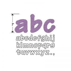 Fustella Sizzix Bigz - Lettere Alfabeto Minuscole