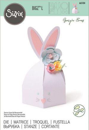 "Fustella Scrapbooking Sizzix Bigz L ""Box Bunny"" – Scatola Coniglio – art. 665104 – Sizzix"