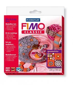 "Fimo Classic Workshop Box ""geometrics"" - art. 8003 30 L1 - Staedtler"
