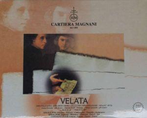 Blocco di carta disegno e schizzi Velata Cartiera Magnani 24x30