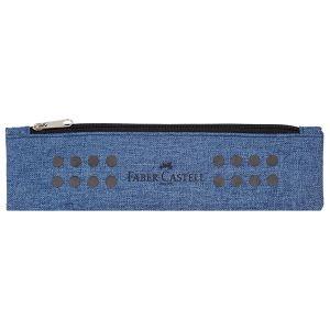 Astuccio Portapenne a bustina con Elastico - GRIP Pencil - Azzurro - art. 57 31 51 - Faber-Castell