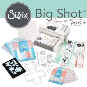 Fustellatrice Big Shot Plus Sizzix set di partenza