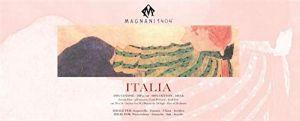 ITALIA - Blocco Carta per Acquerello, China e Acrilico - 100% Cotone - 300 g -  Grana Fina - 20x50 cm - Cartiera Magnani