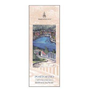 PORTOFINO - Blocco Carta per Acquerello, China e Acrilico - 100% Cotone - 300 g -  Satinato - 15x40 cm - Cartiera Magnani