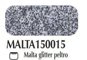 Malta/pasta acrilica per fondi ed effetti materici 3D Glitter peltro Ferrario 150 ml