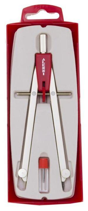 Compasso BALAUSTRONE G32/S - apertura micrometrica - ROSSO - art. g32/sR - Alessi Compassi