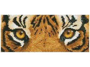 Diamond Dotz - Tiger Spy - Occhi di Tigre - Kit completo - art. DD5.041