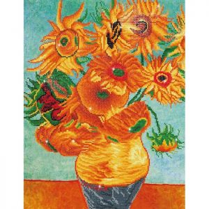 Diamond Dotz - SunFlowers - Girasoli di Van Gogh - Kit completo - art. DD13.011
